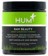 Hum Nutrition Raw Beauty Green Super Food Powder in Mint Chocolate Chip