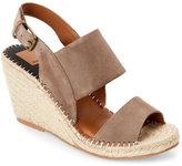 Dolce Vita Almond Terran Open Toe Espadrille Wedge Sandals