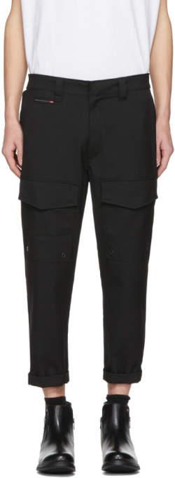 Diesel Black P-Isan-An Cargo Pants