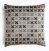 Quatrefoil Silver Pillow