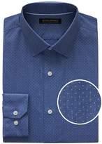 Banana Republic Grant Slim-Fit Non-Iron Stretch Dot Shirt