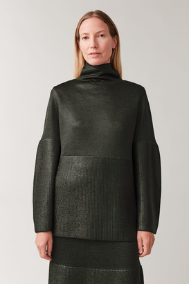 Cos Metallic Knitted Jumper