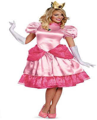 BuySeasons Buy Seasons Women Super Mario Brothers Deluxe Princess Peach Costume
