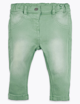 Marks and Spencer Faded Jeans (0 -36 Mths)