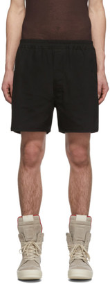 Rick Owens Black Dolphin Boxer Shorts