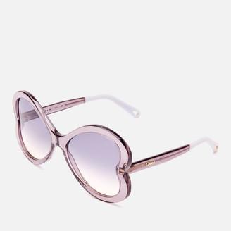 Chloé Women's Bonnie Acetate Sunglasses - Grey