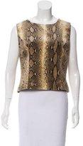 Valentino Printed Sleeveless Top