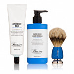 Baxter of California Shave 123 Brush-Shave-Aftershave