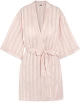 Bodas Shadow Stripe Cotton Robe