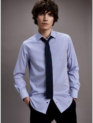 Tommy Hilfiger Regular Fit Cotton Poplin Dress Shirt