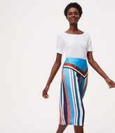 LOFT Home /a> Skirts Petite Skyline Midi Skirt Petite Skyline Midi Skirt