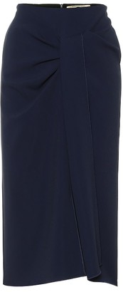 Roland Mouret Aura stretch-crepe pencil skirt