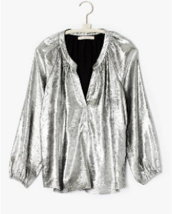 XiRENA The Farrah Top In Silver - XS