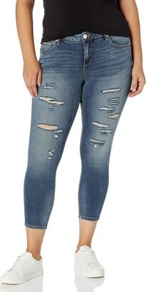 SLINK Jeans Women's Plus Size Danika Ankle Jean