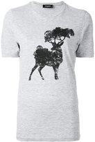 DSQUARED2 elk tree print t-shirt