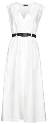 Hache 3/4 length dress