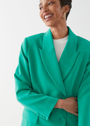 And other stories Oversized Double Breasted Blazer
