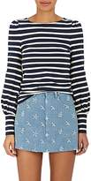 Marc Jacobs Women's Striped Cotton Long-Sleeve Shirt