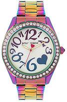 Betsey Johnson Rainbow Bracelet Watch