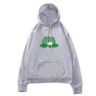 Vvia Hoodies Women Long Sleeve Sweatshirt Ladies Frog Print Long Sleeve Hoodie Stylish And Warm