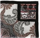 Etro abstract print pocket square