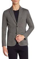 Z Zegna Regular-Fit Mélange Techno Jersey Jacket