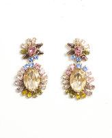 Ann Taylor Spring Crystal Drop Earrings