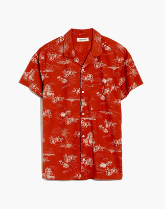 Madewell Easy Camp Shirt in Paradise Toile