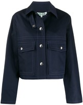 Kenzo patch pockets cropped jacket