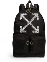 Off-White Off White Airport Tape Arrows Backpack