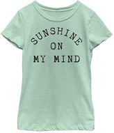 Fifth Sun Mint 'Sunshine On My Mind' Tee - Toddler & Girls