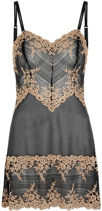 Wacoal Embrace Lace Embroidered Tulle Chemise