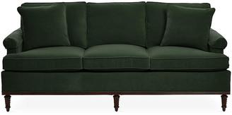 Michael Thomas Collection Garbo Sofa - Forest Velvet