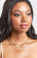 MUMU Vanessa Mooney ~ The Angja Layered Necklace ~ Gold
