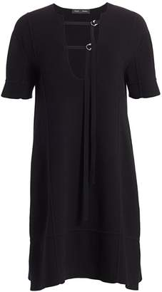 Proenza Schouler Short-Sleeve T-Shirt Dress