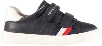 Tommy Hilfiger Hook and Loop Low Trainers