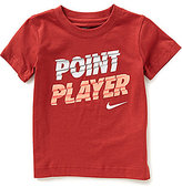 Nike Little Boys 2T-7 Point Player Short-Sleeve Tee