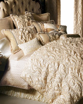 "Dian Austin Couture Home Neutral Modern"" Bed Linens"