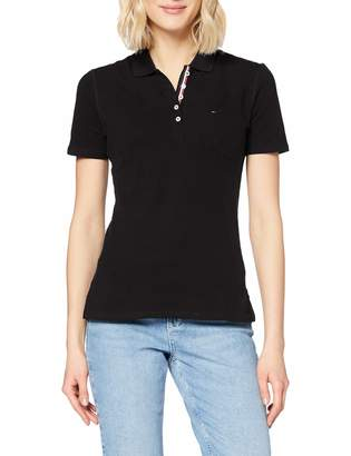 Tommy Hilfiger Tommy Jeans Women's Polo Shirt Original Flag with Short Sleeves