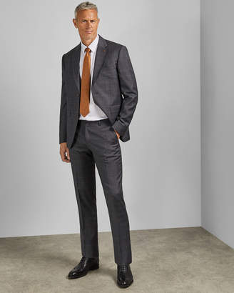 Ted Baker FENCETT Tall Endurance checked wool two-piece suit