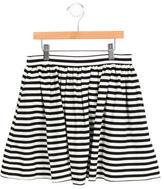 Kate Spade Girls' Striped A-Line Skirt