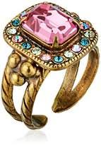 Sorrelli Happy Birthday Opulent Octagon Adjustable Ring