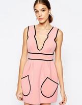 Alice McCall Cloudbursting Dress in Ballet Pink