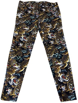 Kenzo Multicolour Denim - Jeans Trousers for Women