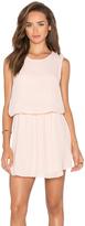 Krisa Flounce Mini Dress