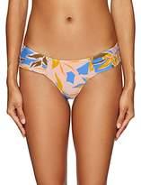 Volcom Women's Palms up Cheeky Bikini Bottom