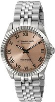 "Stuhrling Original Women's 599L.03 ""Symphony Lady Coronet"" Stainless Steel Watch with Five-Piece Link Bracelet"