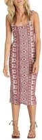 Billabong Women's Share Joy Body-Con Midi Dress