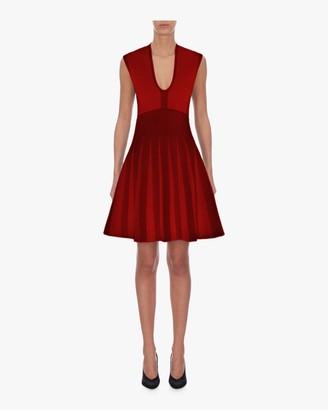Emporio Armani Sleeveless A-Line Mini Dress