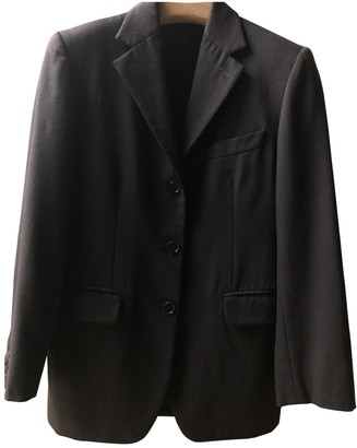 Romeo Gigli Grey Wool Jacket for Women Vintage